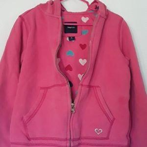 Gap Kids Pink Jacket Hoodie Size 10